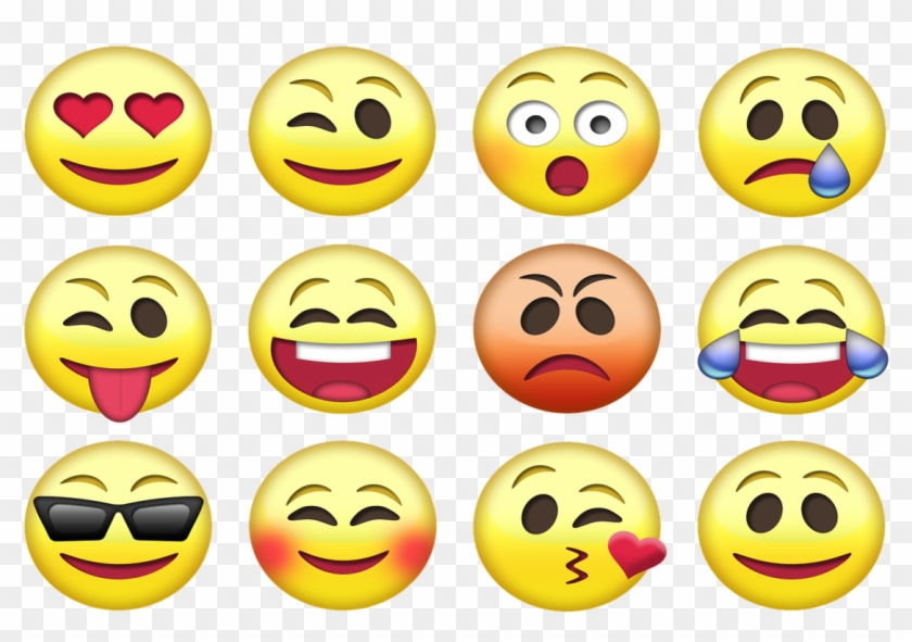 Here Are The 10 Most Popular Emojis - Different Types Of Emotions #558975