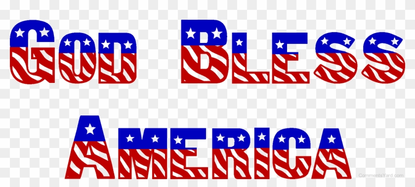 God Bless Picture- Cy120 - God Bless America Text #559568