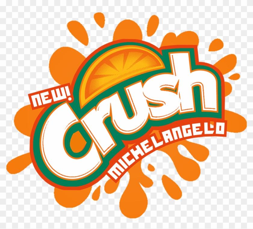The Holidaze Tmnt Crush Michelangelo Orange Rh The - Grape Crush Soda Logo #559643
