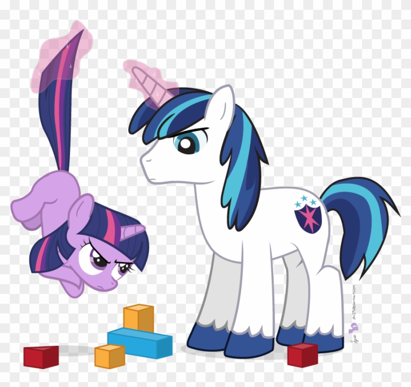 dm29 blocks duo filly magic safe shining armor twilight