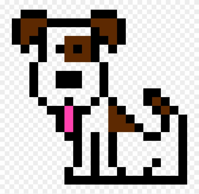 cute puppy dog drawing on graph paper free transparent png