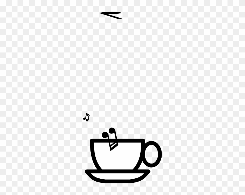 Blank Cup Soup Clip Art At Clker - Coffee Cup Clipart Transparent #560607