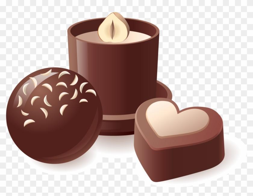 Chocolate Truffle Chocolate Bar Chocolate Cake Hot - Cafe Y Chocolate Cartoon #562774