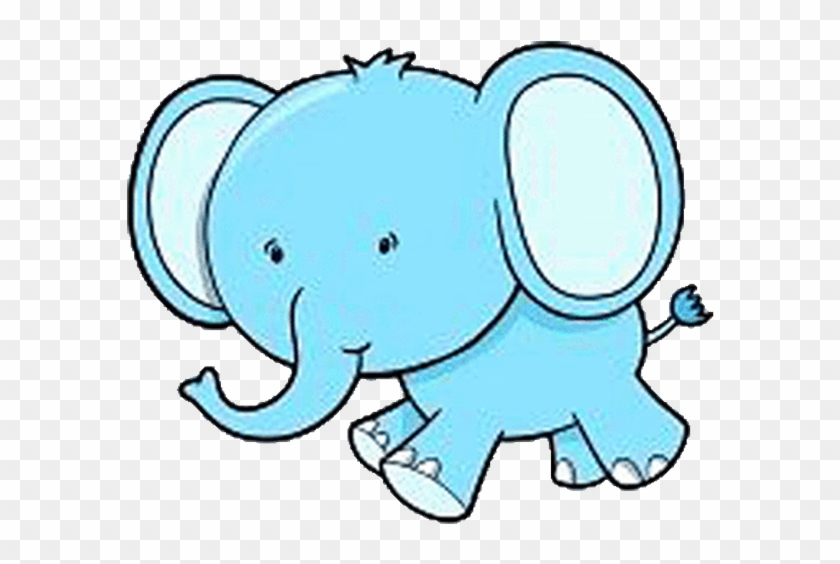 Animal Zoo - Coloring Pictures Of A Cute Elephant #562797