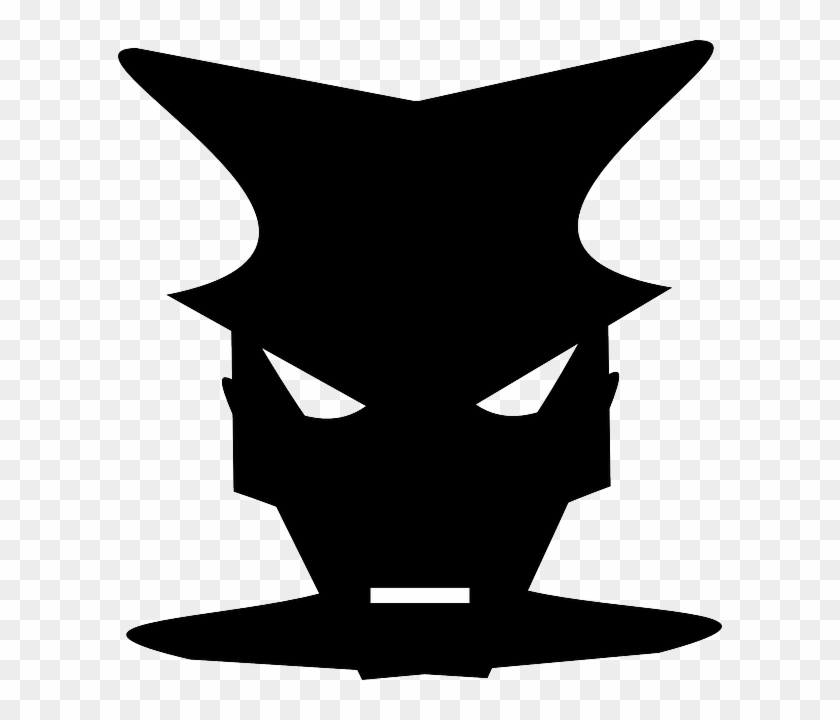 Clothing, Mask, Cover, Carnival, Masks - Black Face Mask To Cover #562898
