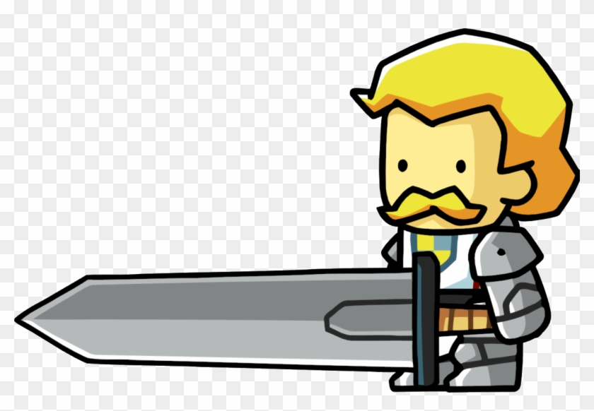 Paladin - Scribblenauts Remix People - Free Transparent PNG