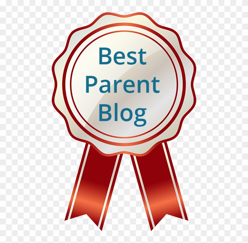 Best Parent Blog Banner - Gold Seal With Ribbon #563161