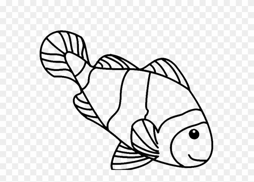 line drawings for kids funny the fish coloring for coloring page clown fish free transparent png clipart images download coloring page clown fish