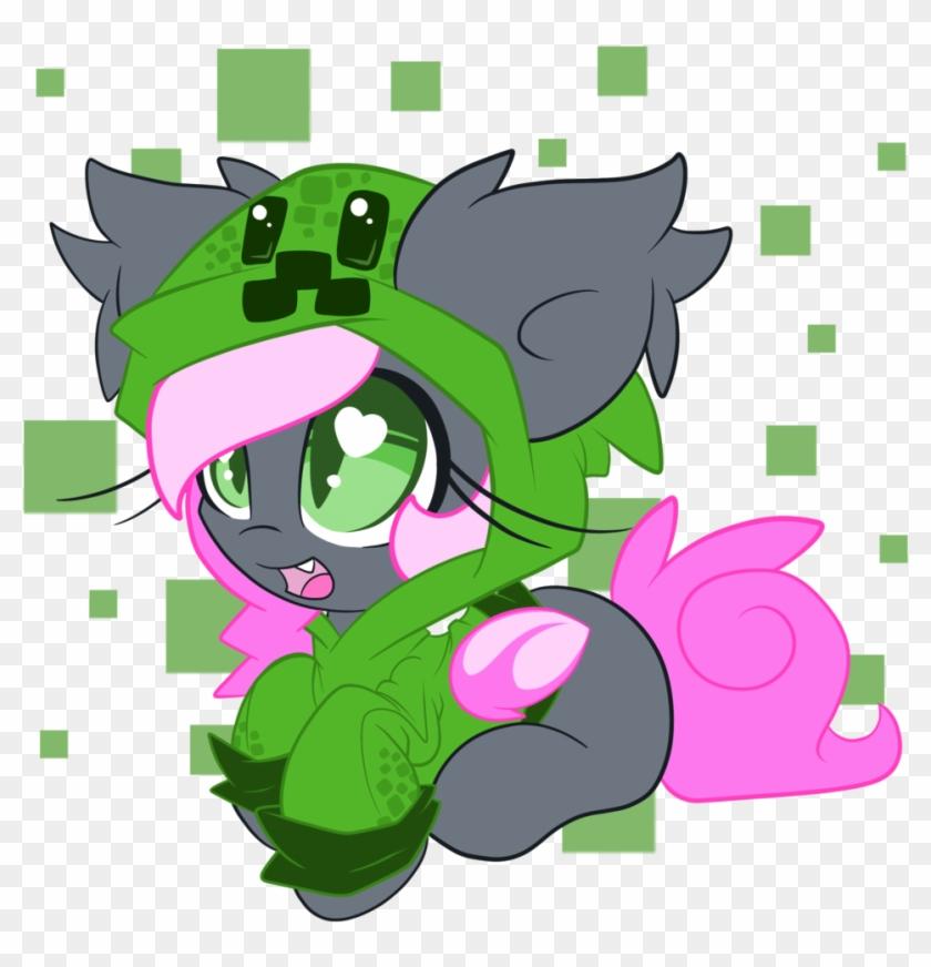 Lorehoshiko, Bat Pony, Blank Flank, Clothes, Creeparka, - Cartoon #565505