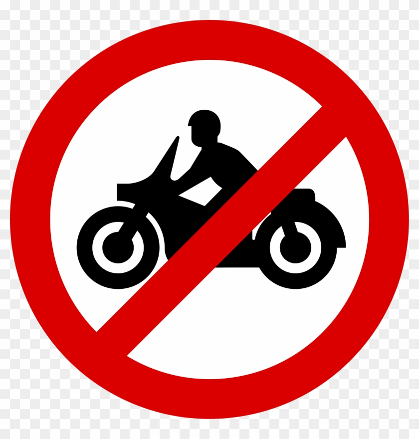 No Motorcycles - Muslims Cannot Eat Pork #566570