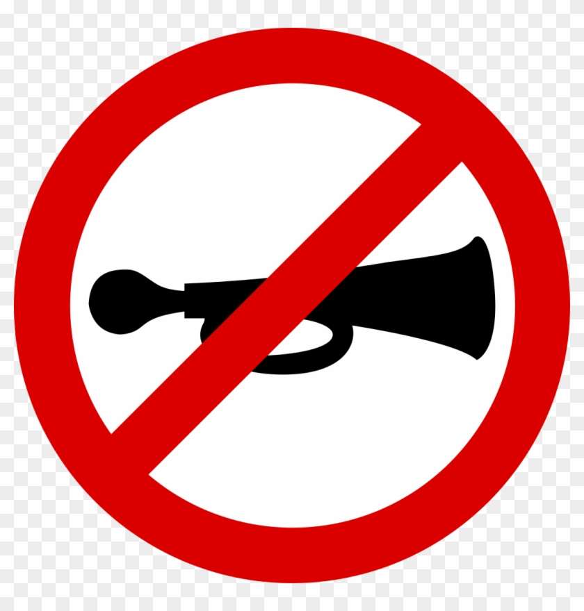 No Sounding Of Vehicle Horn - No Shark Fin Soup #566638