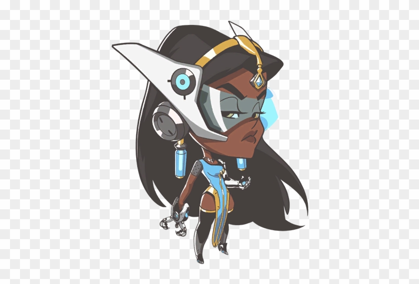 Overwatch Caricature - Google Search - Overwatch Symmetra Cute Spray #566787
