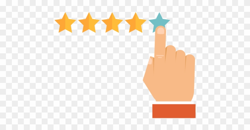 Reviews - Google Reviews Five Stars - Free Transparent PNG Clipart