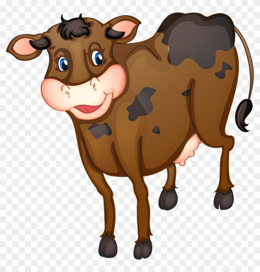 Farm Animals, Clip Art, Recipe Cards, Cows, Country