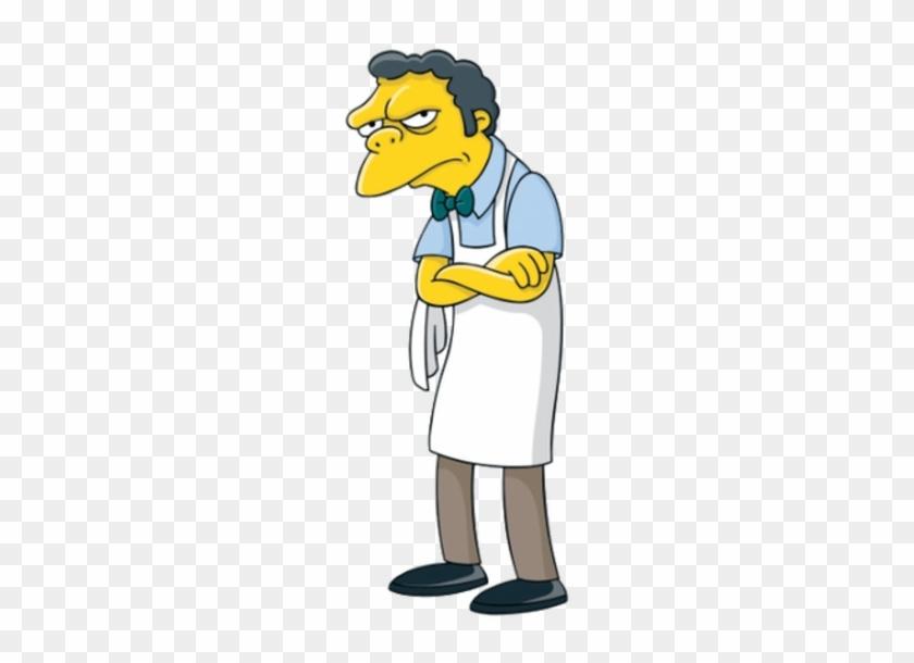 Moe Szyslak - Moe From The Simpsons #567898