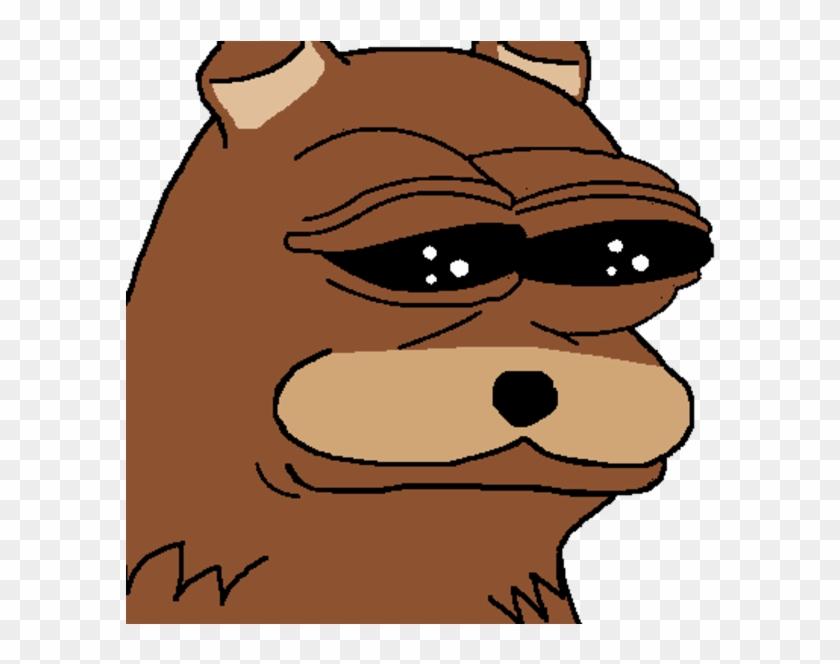 Face Dog Like Mammal Hair Nose Facial Expression Mammal - Pedo Bear Pepe #568709