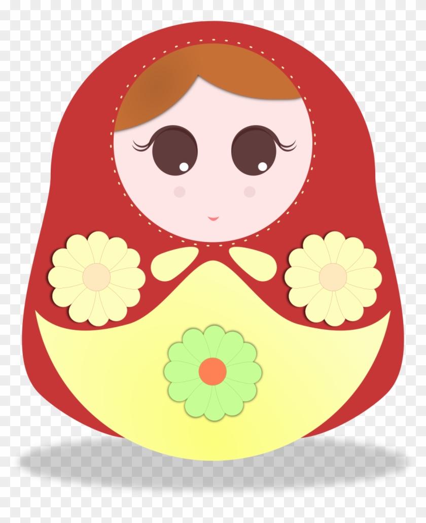 Doll Illustration - Russian Doll Illustration #568963