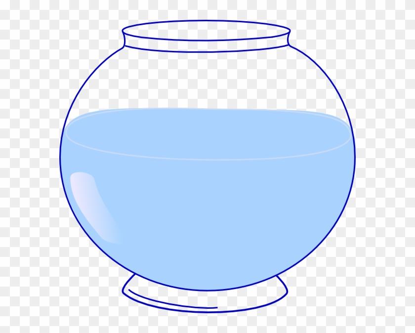 Fish Bowl Clip Art At Clker - Empty Fish Bowl Clipart #569032
