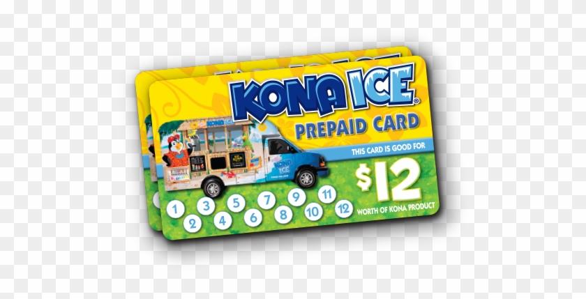 Prepaid Cards - Kona Ice Business Card #569105