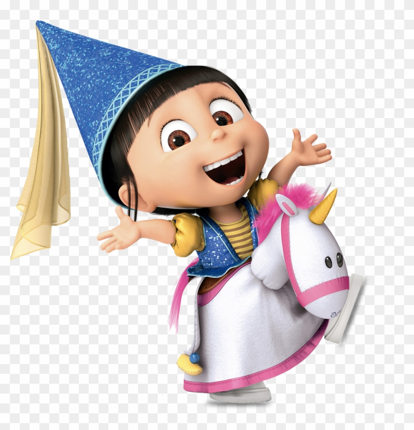 Despicable Me - Agnes with a Unicorn - Coloring Pages - 3 | Nutty ... | 874x840