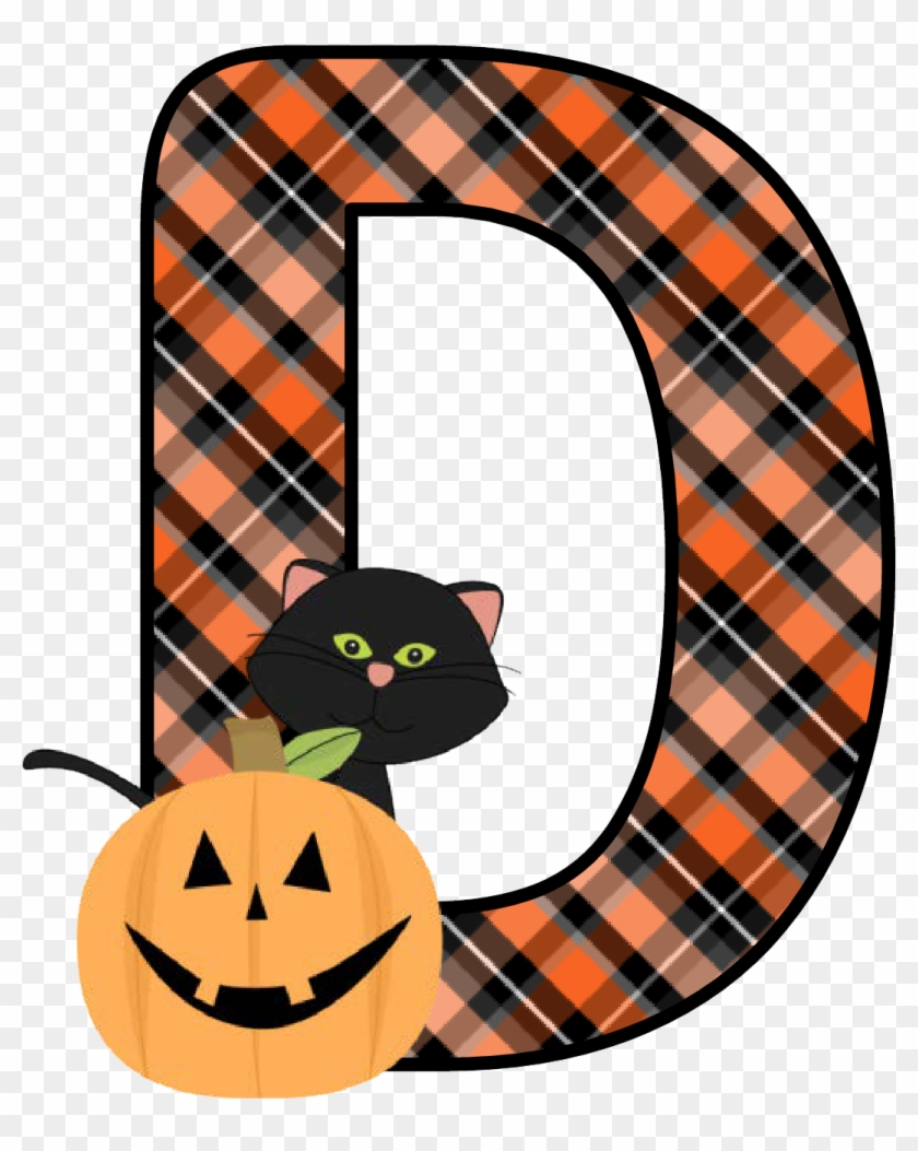 Ch B *✿* Alfabeto Calabaza De Kid Sparkz - Free Printable Halloween Alphabet Letters Cat Pumpkin #570255