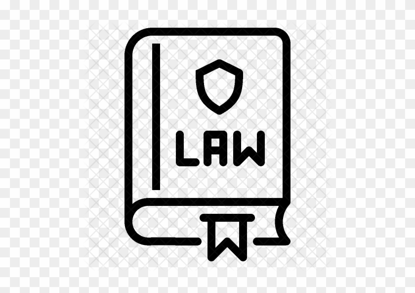 Constitution Icon - Book Law Icon Png #570293