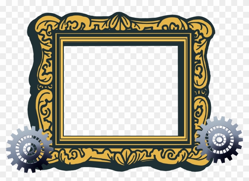 Picture Frame Free Content Clip Art - Picture Frame Free Content Clip Art #571019