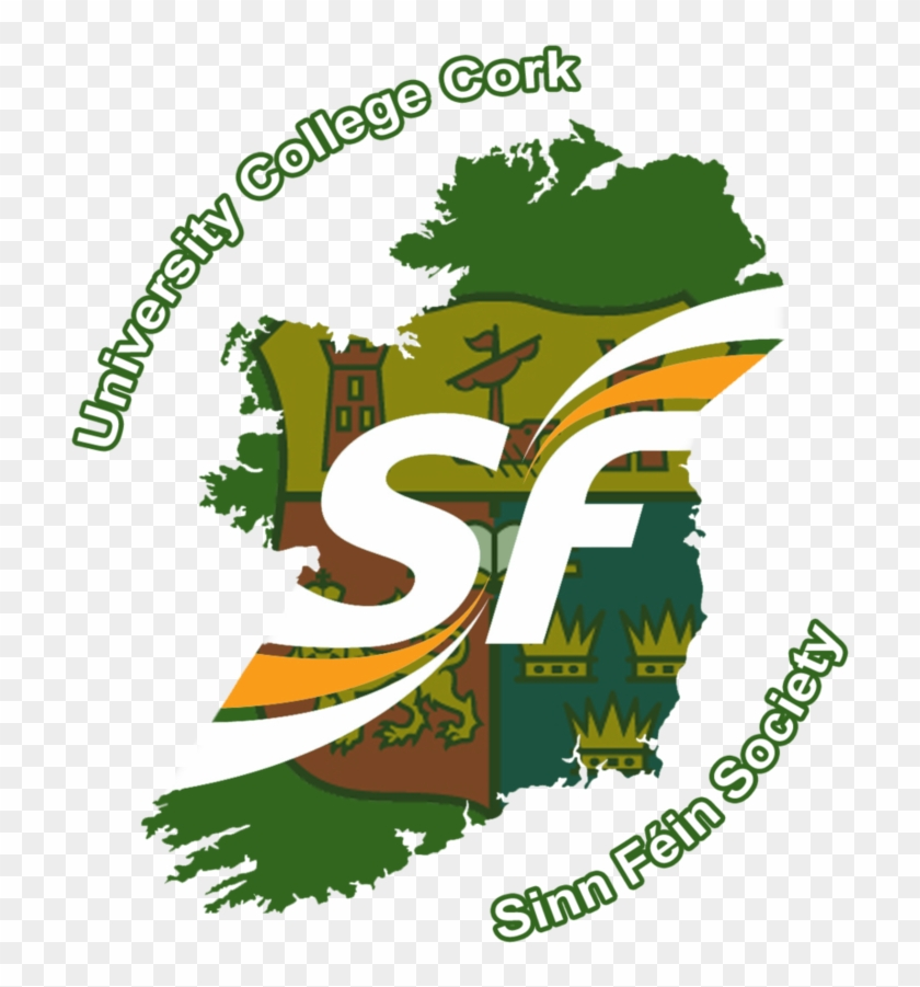 Ucc Sinn Fein Society Logo By Rbosull - Northern Ireland Political Parties #571055