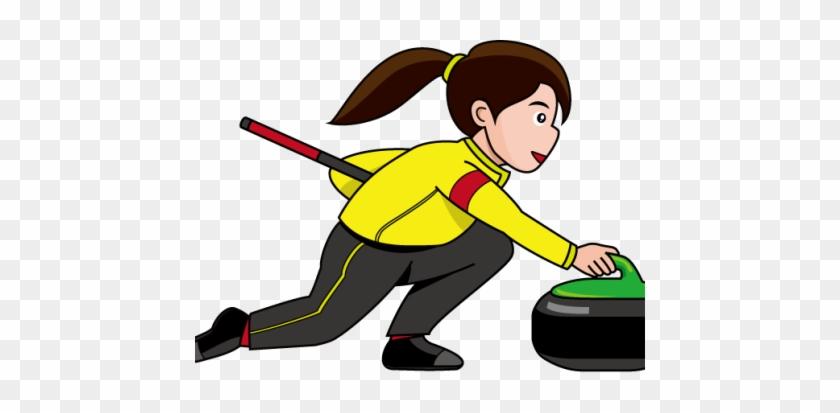 Curling - Curling Cartoon #571064