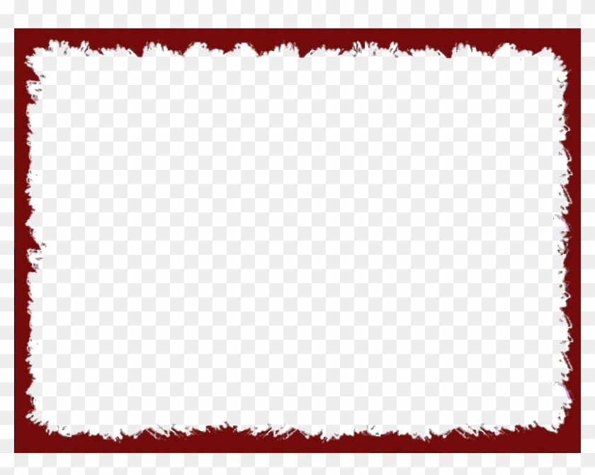 Picture Frame Clip Art - Red Border Png #571076