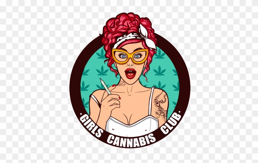 Girls Cannabis Club Logo - Girls Cannabis Club #571173