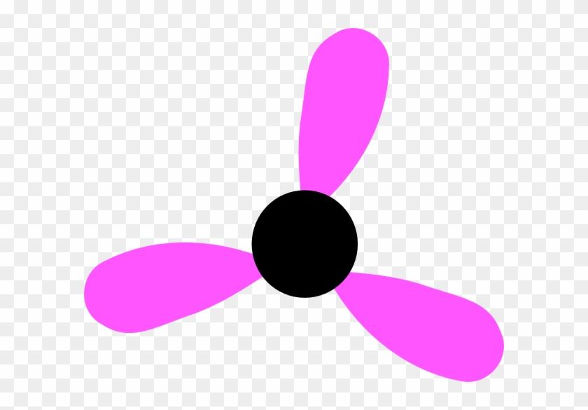 Magenta Flower Missing 3 Clip Art - Magenta Flower Missing 3 Clip Art #571182