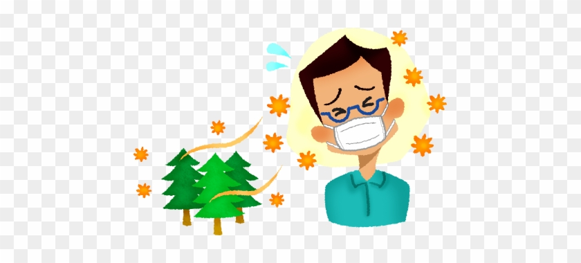 Man With Hay Fever - Hay Fever Clipart #571327
