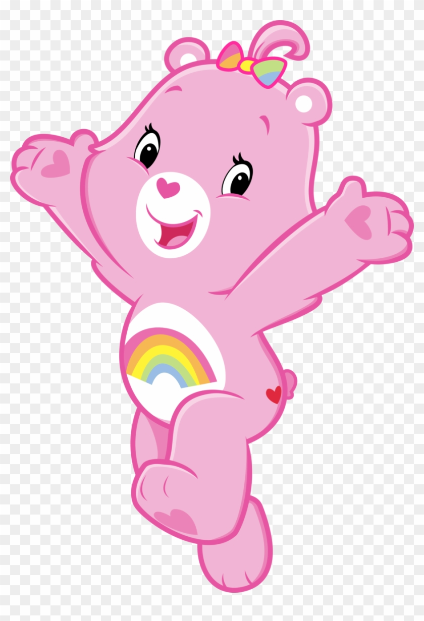Care Bear Clip Art With Pictures Medium Size - Care Bears Cheer Bear #571420