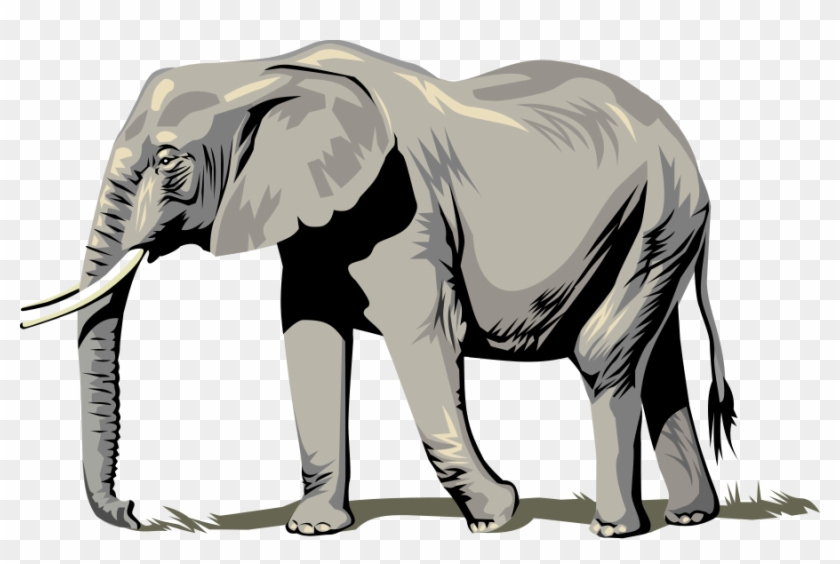 Elephant Clipart, Vector Clip Art Online, Royalty Free - 1 To 100 Number Counting Game #571448