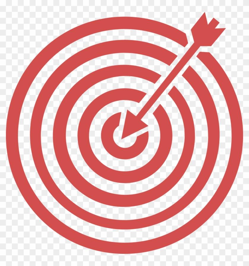 Composite Advantage Bullseye Graphic - Portrait Of A Man #571467