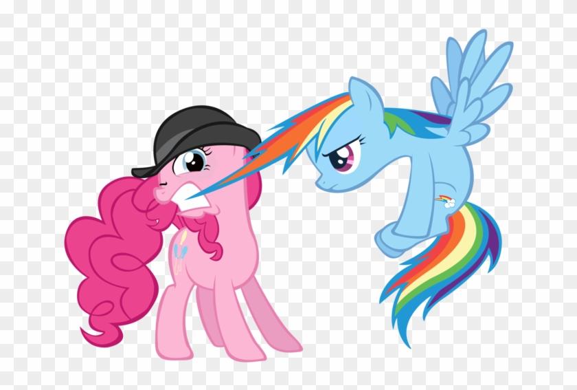 My Little Pony Lxxiv - My Little Pony Pinkie Pie Rainbow Dash #571532