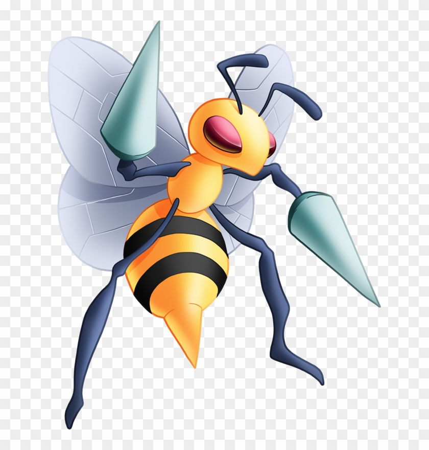Stats, Moves, Evolution, Locations & Other Forms - Beedrill Pokemon #571570