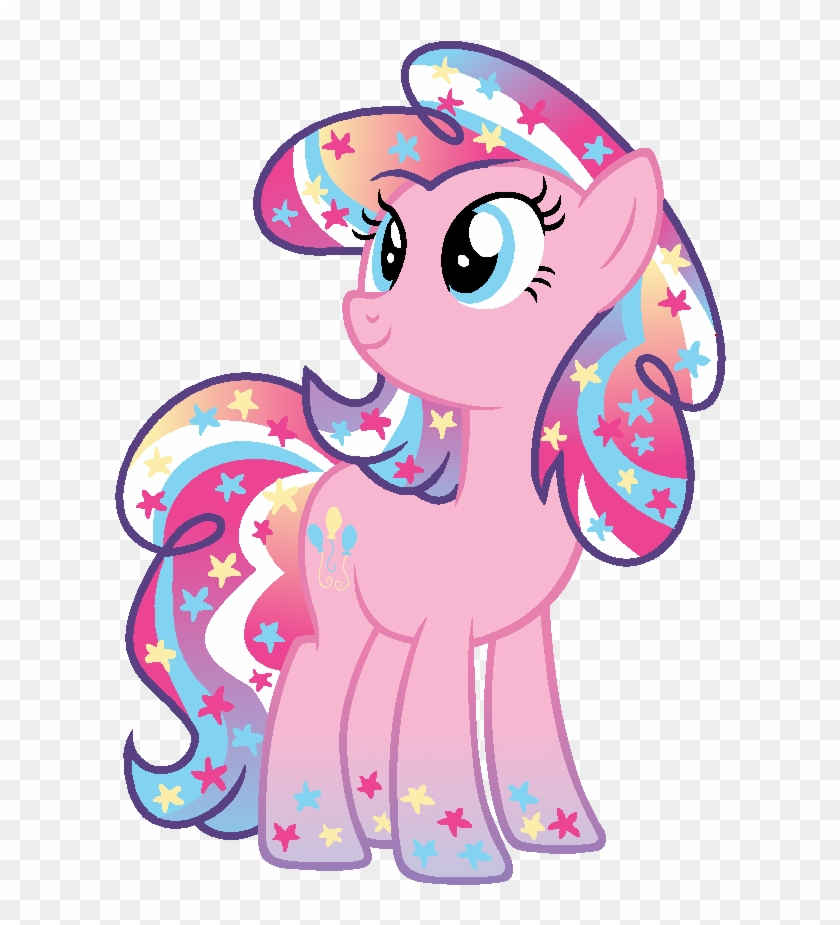 Thought I'd Try Designing The Mane Six As Universe - Pinkie Pie #571652