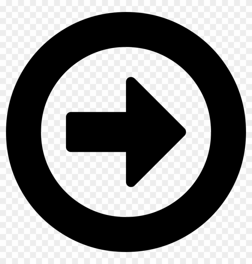 Right Arrow In A Circle Comments - Comedy Central Logo #571698