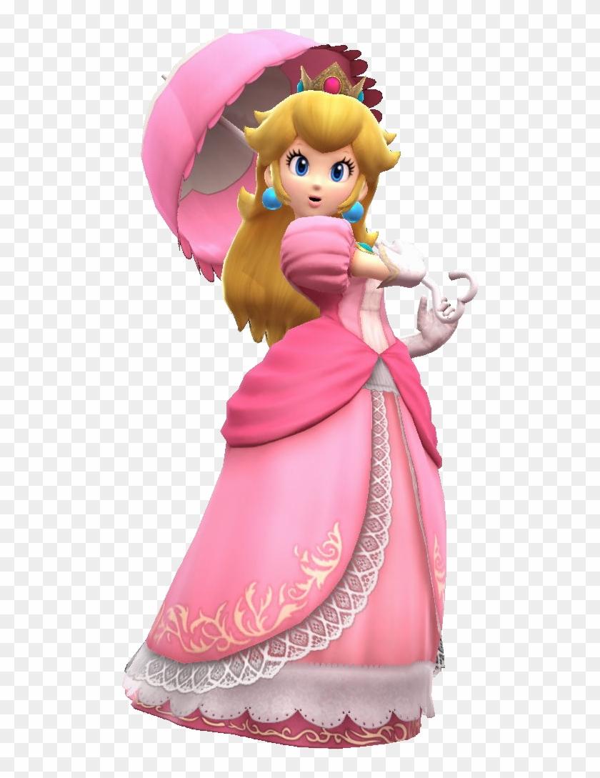 Princess Peach Clipart Transparent - Princess Peach Smash Bros Wii U #571706