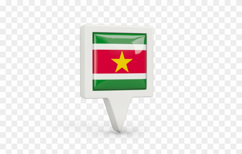 Illustration Of Flag Of Suriname - Suriname #571739