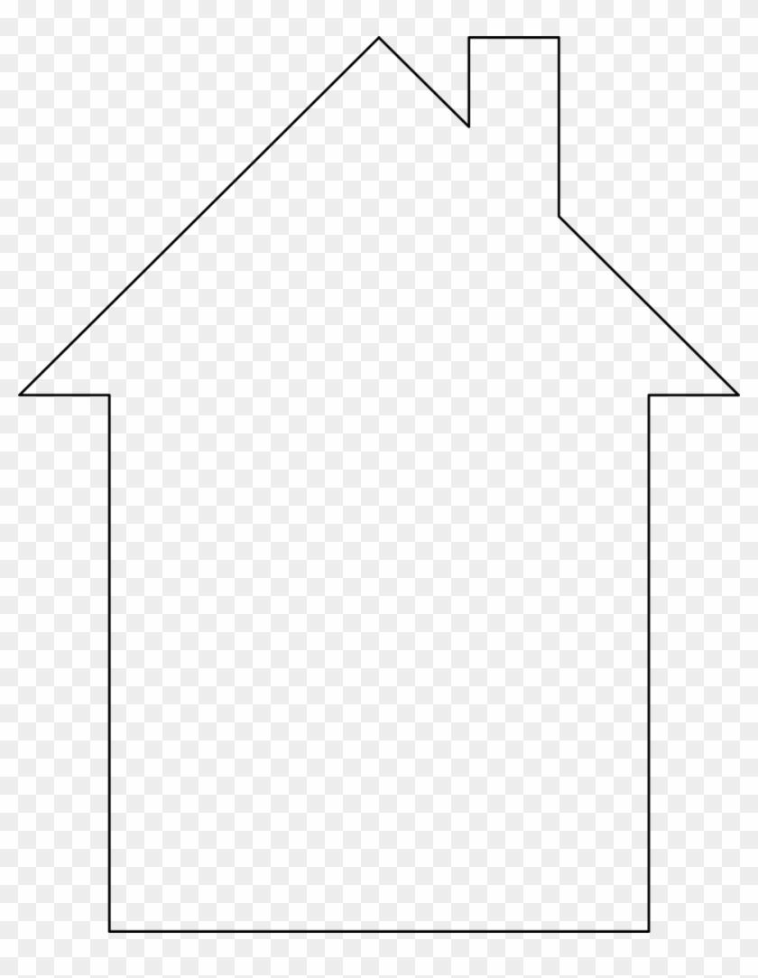 Illustration Of A House Outline - Paper #571775