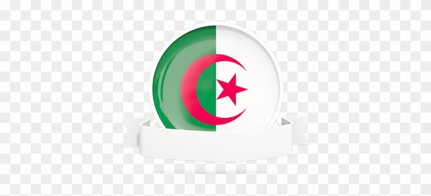 Illustration Of Flag Of Algeria - Algeria Flag #571780