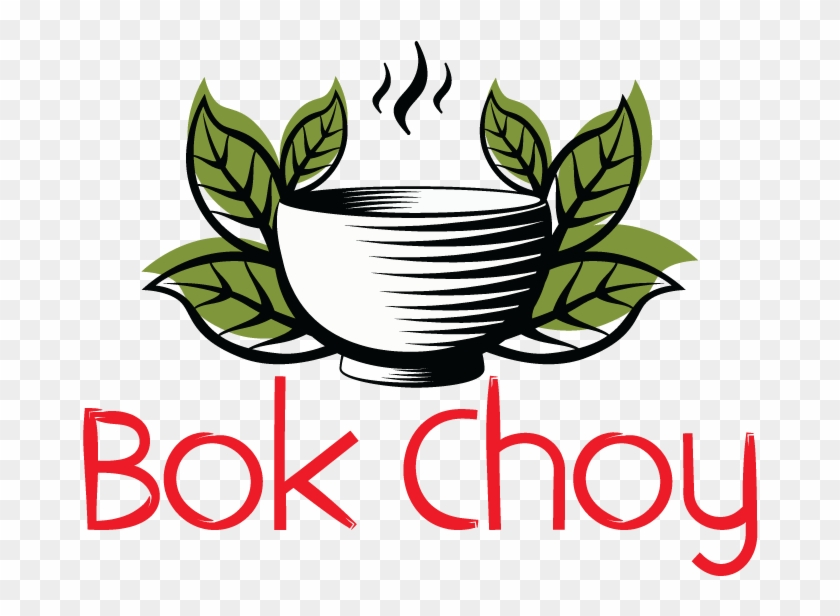 Bok Choy Collapsed Logo - Asian Cuisine #571948