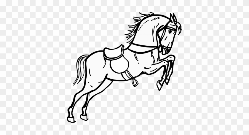 Save - Horse Black & White #571950