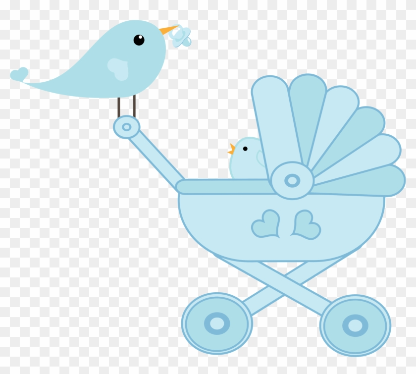 Baby Bird Stroller Icons Png - Stroller Baby Png #571967