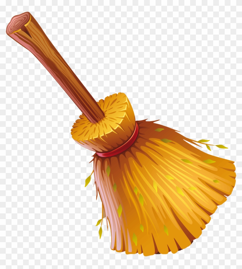 Witch Broom Png Clipart - Broom #571986
