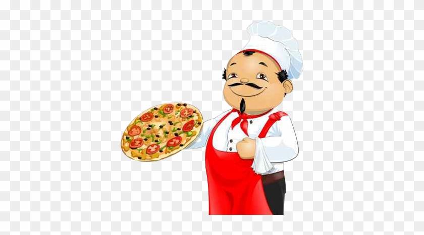 Pizza Chef Png Pizz'n'love - Pizza Maker Clip Art #572024