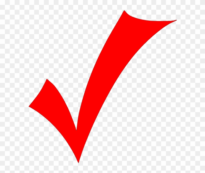 Cant Find The Perfect Clip Art - Red Check Mark No Background #572046